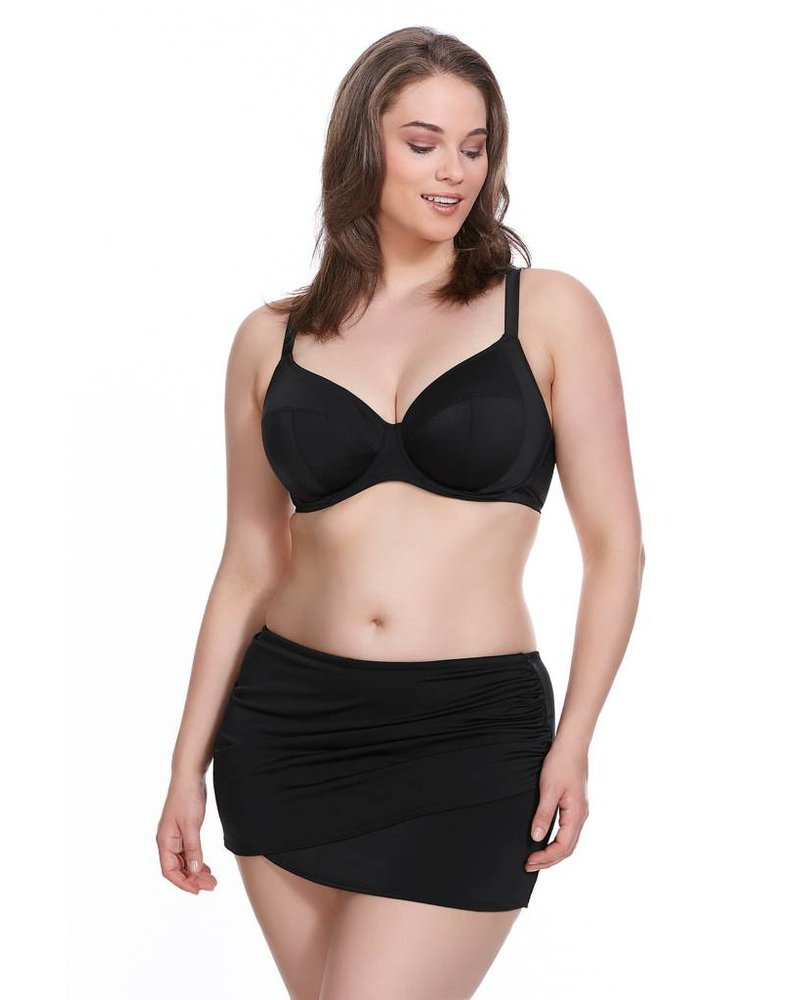 Elomi PLUS SIZE ESSENTIALS WRAP SKIRTED BIKINI BOTTOM