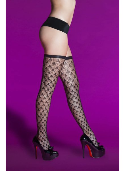 Hauty Prism Pattern Thigh High