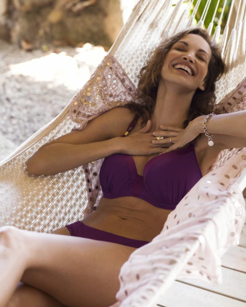 FANTASIE Rio Bueno Purple Mid Rise Bikini Brief