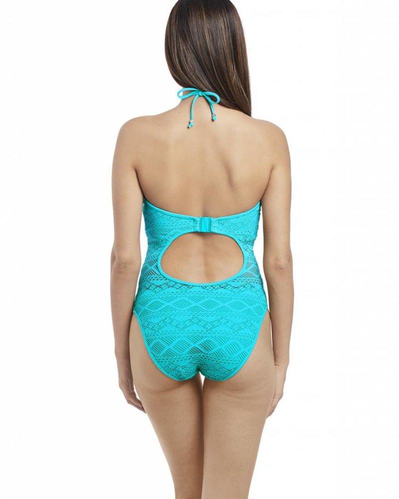 2bf927e2194 Freya Sundance Underwire High Neck Cutout Swimsuit Freya Sundance Underwire  High Neck Cutout Swimsuit ...