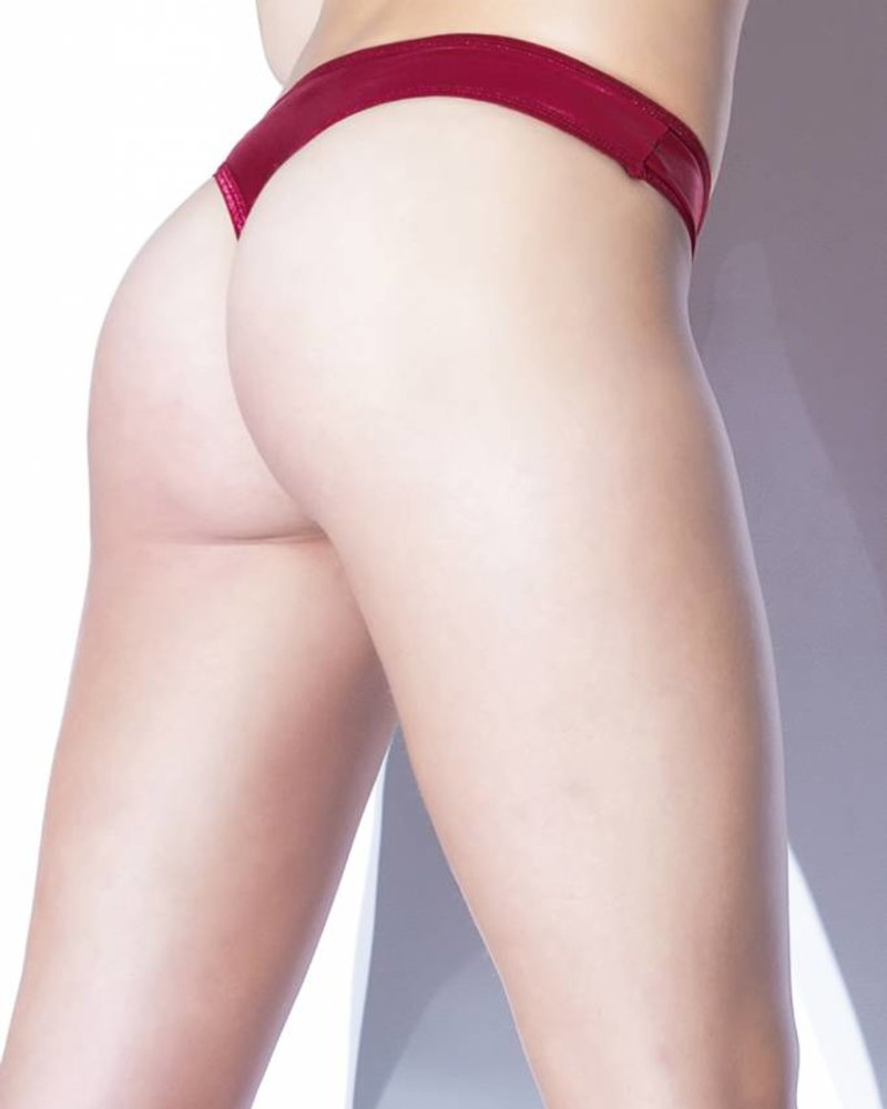 Coquette FOREVER MATTE WET LOOK THONG
