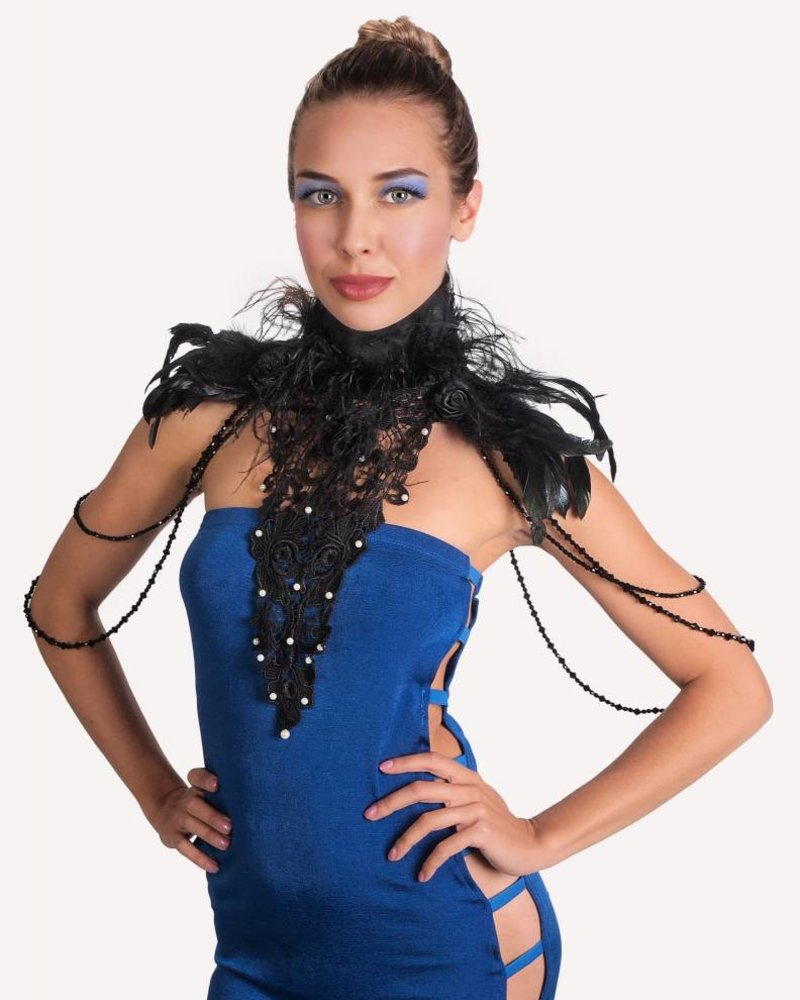 FEATHERS & LACE BODY JEWELRY