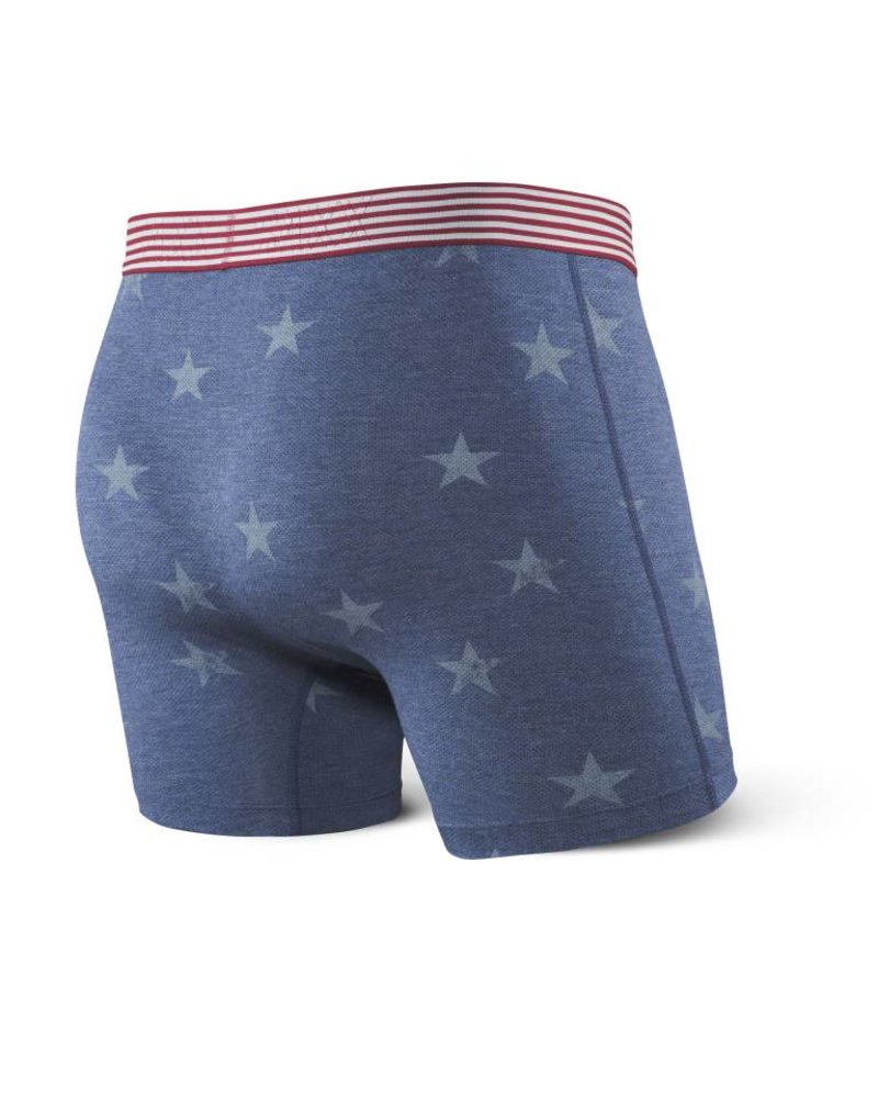 SAXX Vibe Boxer Brief - Chambray American