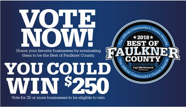 Vote for ANGIE DAVIS Best of Faulkner County!