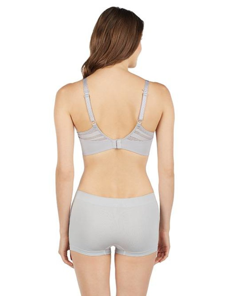 LE MYSTERE ACTIVE BALANCE UNDERWIRE SPORTS BRA - SMOKE