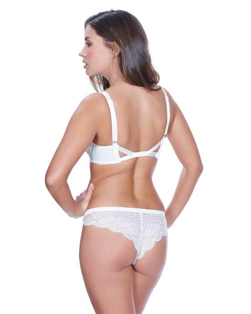 Freya FANCIES UNDERWIRE PLUNGE BRA - WHITE