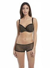 Freya SUMMER HAZE BLACK BALCONY BRA - BLACK