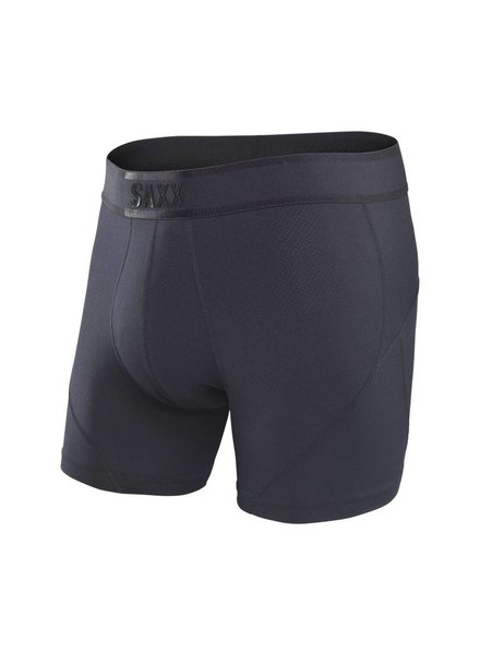 SAXX SAXX KINETIC BOXER BRIEF - BLACKOUT