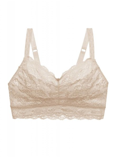 Cosabella NEVER SAY NEVER CURVY SWEETIE BRALETTE - SAND