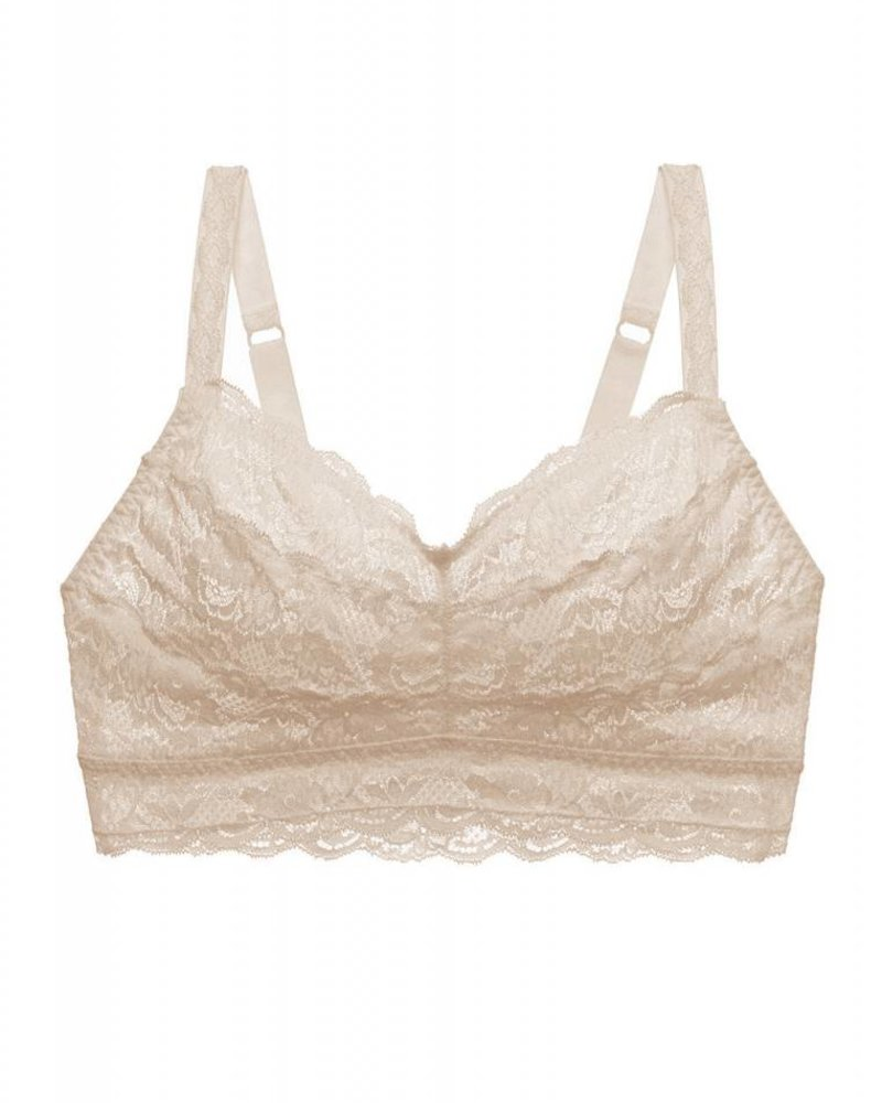 deb3d37a2f226 NEVER SAY NEVER CURVY SWEETIE BRALETTE - SAND - ANGIE DAVIS
