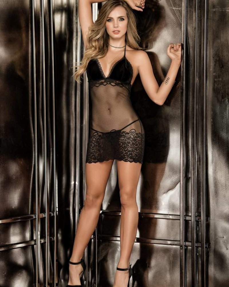 Emma Babydoll With Matching G-String