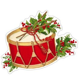 Caspari Ornament Gift Tags 4pk Christmas Concert Music