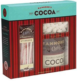 Hammonds Candies Hot Cocoa Kit Cocoa Marshmallows Peppermint Stirrers