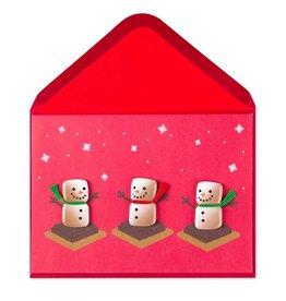 Papyrus Greetings Christmas Card Smores Snowmen