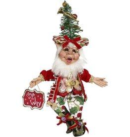 Mark Roberts Fairies Elves Bell Ringer Elf SM 13 inch