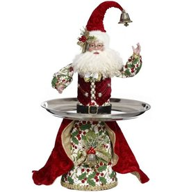 Mark Roberts Fairies Santas - Server Santa 23 inch