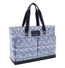 Scout Bags Uptown Girl Tote Bag Zip w Pockets - Royal Highness