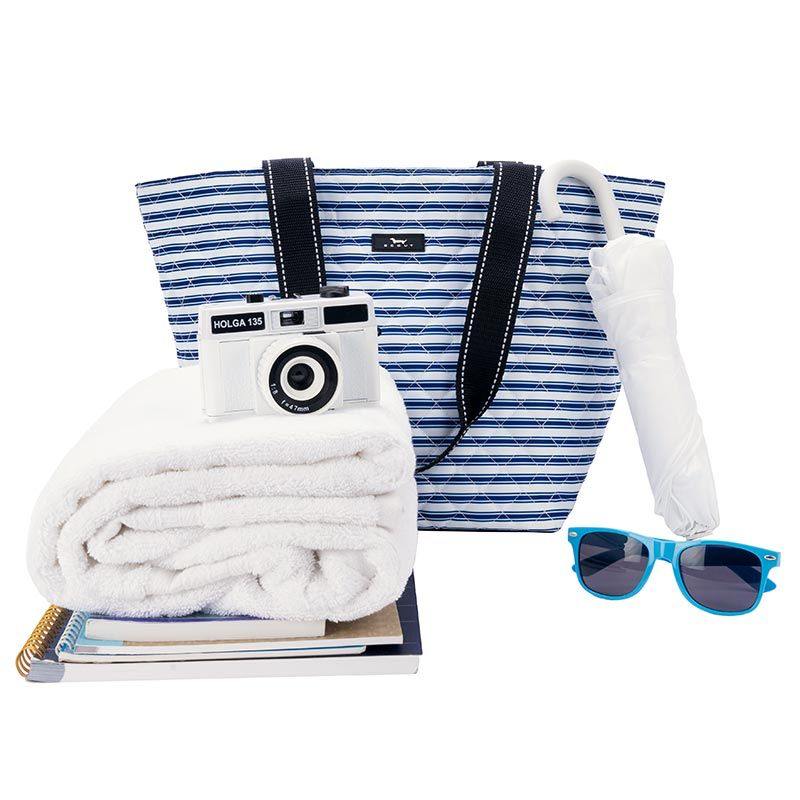 Scout Bags Daytripper Quilted Shoulder Bag Stripe Right