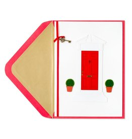 Papyrus Greetings New Home Card Red Door