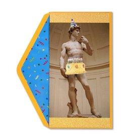 Papyrus Greetings Birthday Card Statue of David