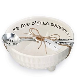 Mud Pie Holy Guacamole Dip Cup Set Its Five O-Guac Somewhere