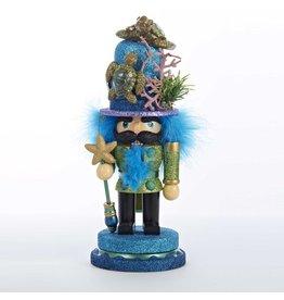 Kurt Adler Hollywood Christmas Nutcracker w Sea Turtle Hat