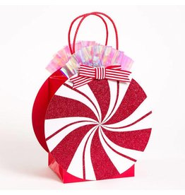Papyrus Peppermint Candy Gift Bag Medium 7x5.5x9
