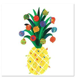 Papyrus Christmas Pineapple Cocktail Beverage Napkins 20pk