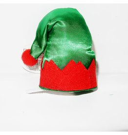 DM Merchandising Mini Santa Elf Christmas Hat Hair Clip - I