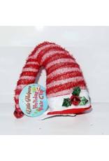 DM Merchandising Mini Santa Elf Christmas Hat Hair Clip - A