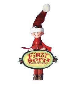 Kurt Adler Moms Favorite Christmas Ornament First Born Boy W1720-E