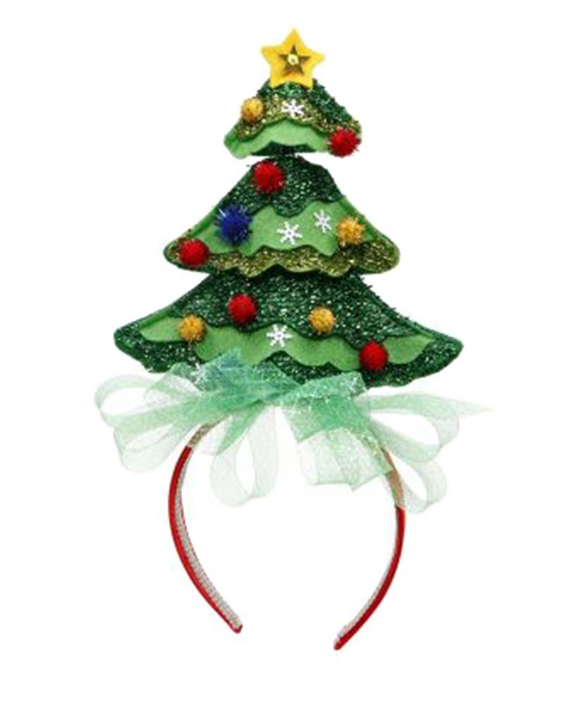 Mark Roberts Christmas Decorations Christmas Hat Headband w X-mas Tree