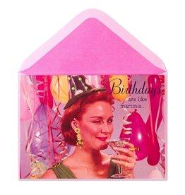 PAPYRUS® Birthday Cards Birthday Martinis