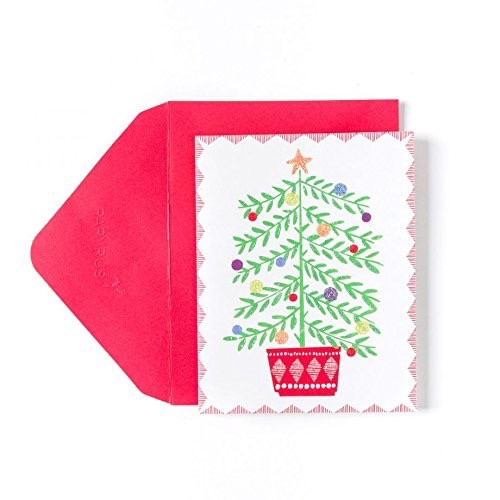 PAPYRUS® Boxed Christmas Cards Happy Sweet Tree in Pot 20pk