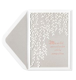 Papyrus Greetings Sympathy Card Weeping Willows