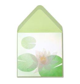 PAPYRUS® Sympathy Card Lotus Flower Sculpture