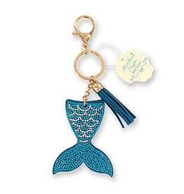 DM Merchandising Dazzler Mermaid Keychain 6.5 inch Sparkling Mermaid Tail