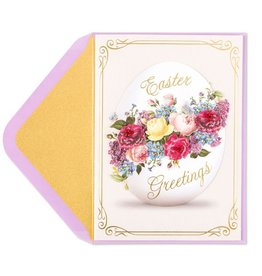 Papyrus Greetings Easter Card Victorian Egg