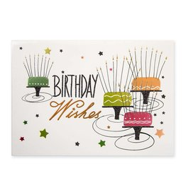 Papyrus Greetings Birthday Card Birthday Wishes Long Candle Cakes
