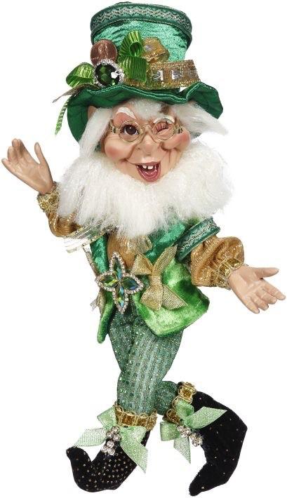 Mark Roberts Fairies Elves Irish St Patricks Leprechaun Elf 12 inch