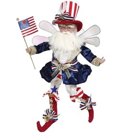 Mark Roberts Fairies Patriotic 51-97594 Proud Patriot Fairy MD 16 inch