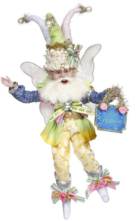 Mark Roberts Fairies Happy Birthday Party Fairy SM 9 inch