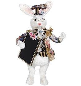 Mark Roberts Fairies Easter Bunny Butler w Chalkboard 21 inch 51-97672