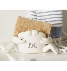 Mud Pie Crab Sponge Caddy Sponge Holder