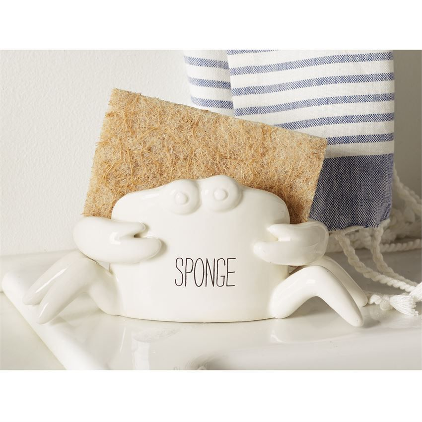 Mud Pie Crab Sponge Caddy Sponge Holder