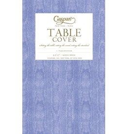 Caspari Caspari Table Covers Moire 9711TCP Lavender Blue Tablecover 54x84 inch