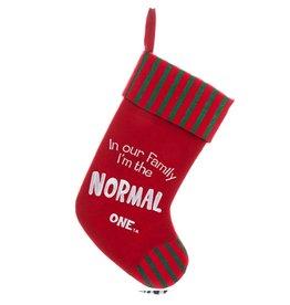 Kurt Adler Christmas Stocking Felt Family Normal One Stocking C9754-G