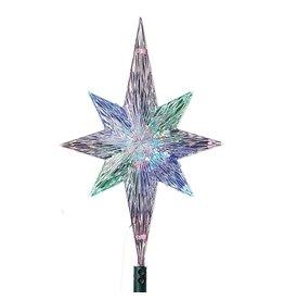 Kurt Adler Christmas Tree Topper LED Polar Star Tree Topper
