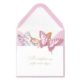 PAPYRUS® Wedding Card Accordion Butterfly by Papyrus