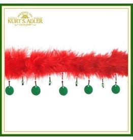 Kurt Adler Pet Collars J4184-C-LG Holiday Pet Collar Lg.